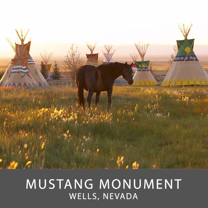 Mustang Monument